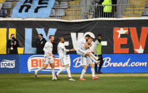 New England Revolution upsets Philadelphia Union