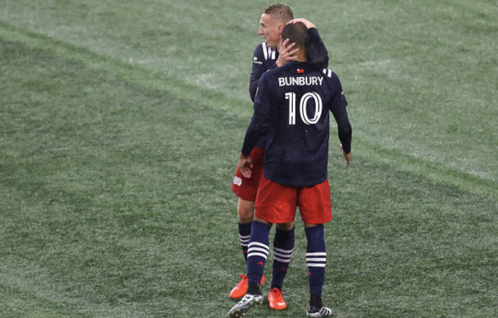 New England Revolution win over DCU