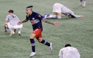 Gustavo Bou NE Revolution MLS Playoffs