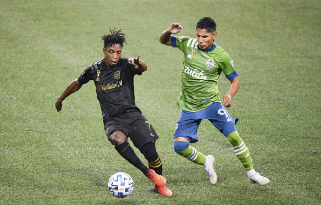 Seattle Sounders vs. LAFC MLS Playoffs