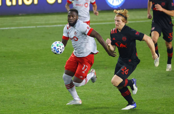 Toronto FC drops New York Red Bull