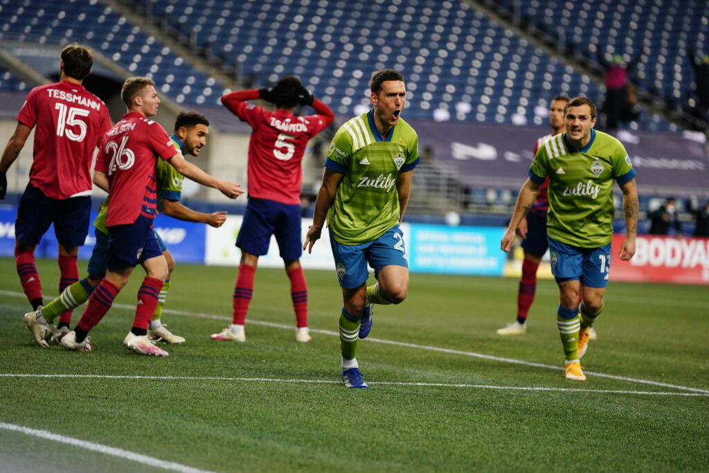 Seattle Sounders top FC Dallas Shane O'Neill MLS