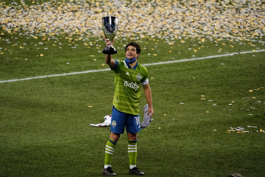 Seattle Sounders Nicolás Lodeiro MLS Cup