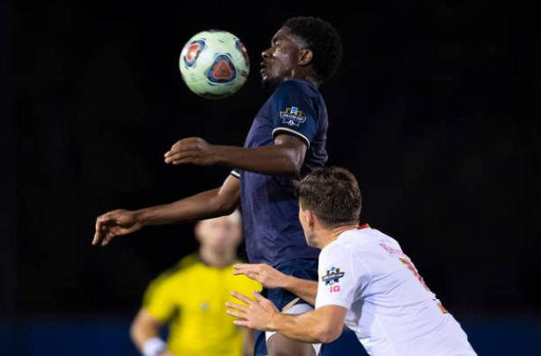 Vancouver Whitecaps strikers David Egbo