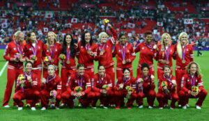 Eva Havaris talks about CANWNT finishing the 2012 Summer Olympics in third place