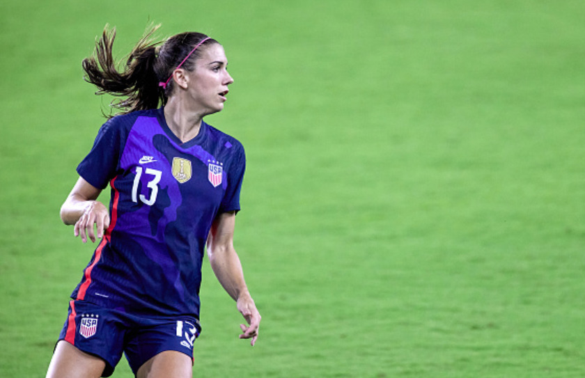 Alex Morgan USWNT Olympic Roster