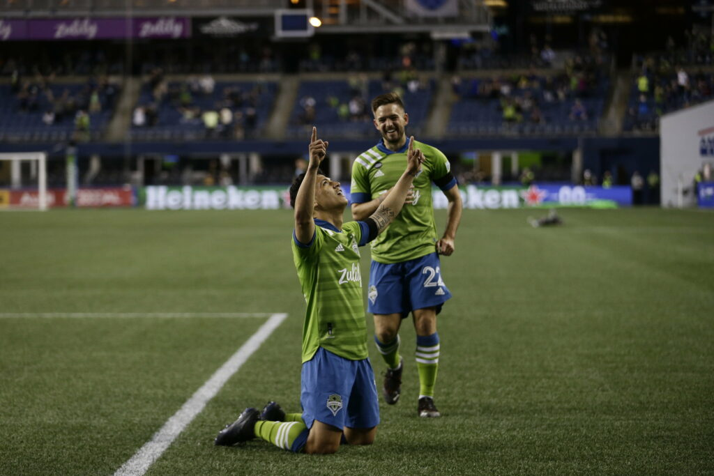 Seattle Sounders MLS Fredy Montero
