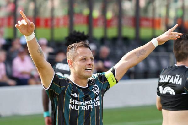 Chicharito brace LA Galaxy Inter Miami