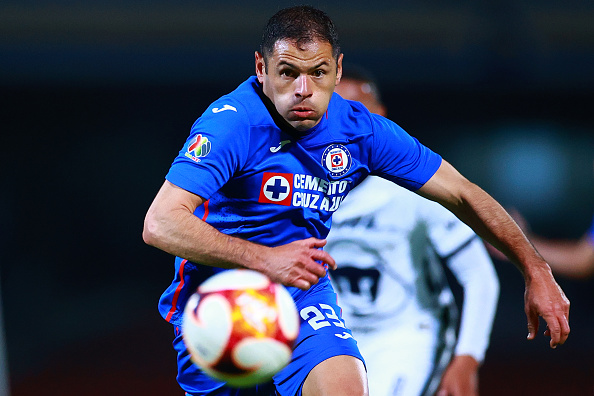 Pablo Aguilar as part of the Torneo Guard1anes 2021 Liga MX against Pumas UNAM in 2021