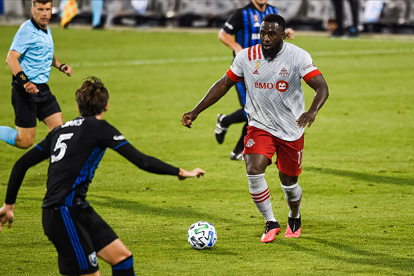 Jozy Altidore on September 9 2019 against the Montreal Impact at Stade Saputo