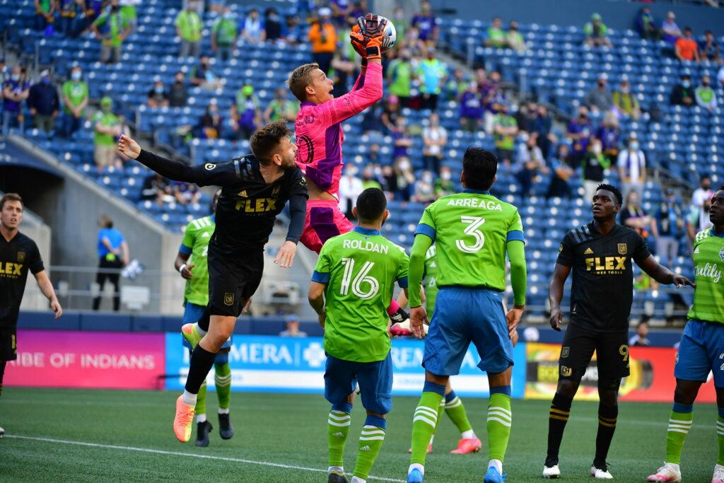 MLS Seattle Sounders LAFC