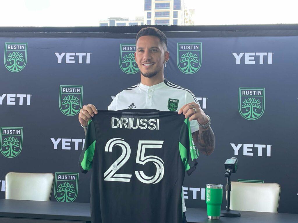 Sebastian Driussi Austin FC