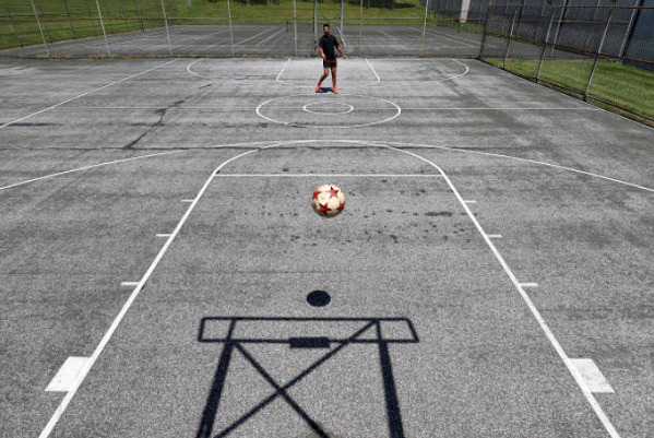 soccer basketball