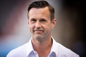 NYCFC head coach Ronny Deila before the match against Inter Miami CF