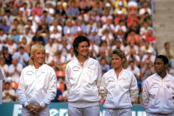 USA Fed Cup Team 1980s