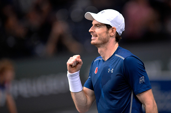Andy Murray world number one Paris Masters