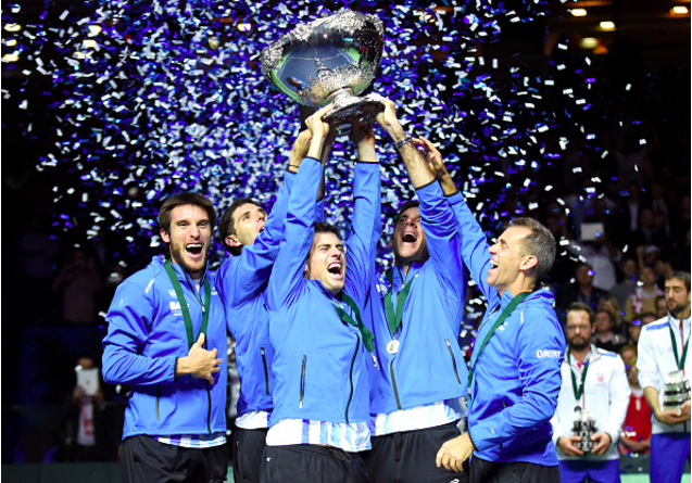 Become a Witness of the Creation of Davis Cup History