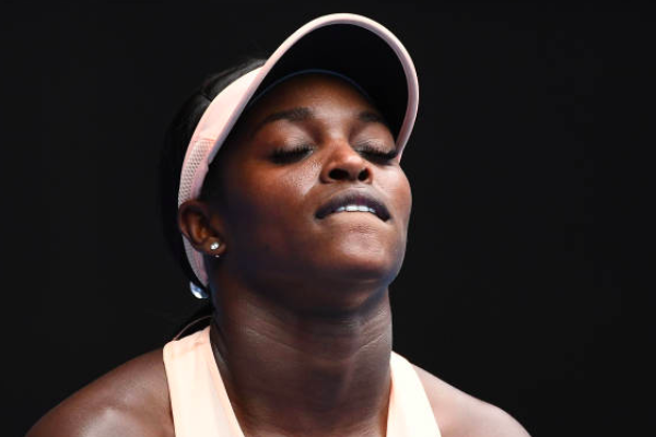 Stephens tumbles out in first round, Ostapenko impresses