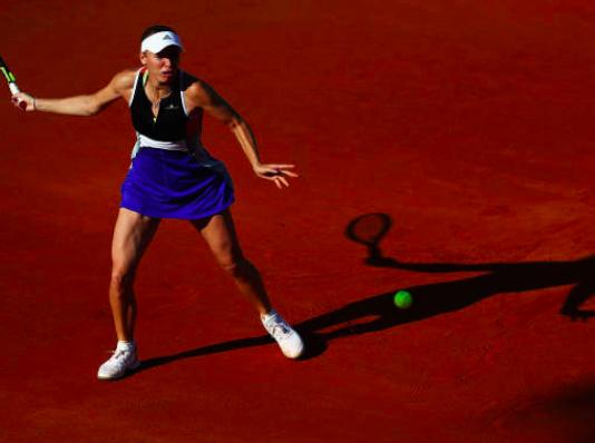 Caroline Wozniacki clay