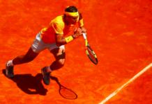 Rafael Nadal clay
