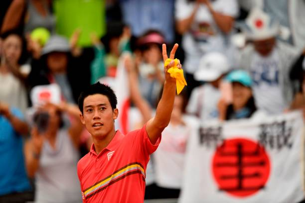 Thiem dumps Nishikori out of French Open