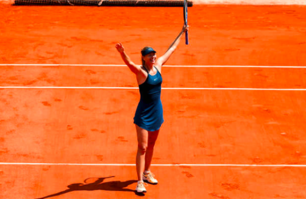 French Open 2018: Maria Sharapova Loses, Men's Play Postponed on Wednesday