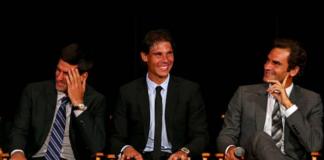 Laver Cup Djokovic Federer Nadal
