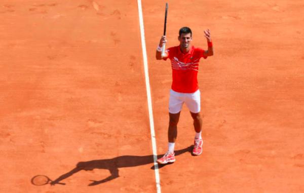 Novak Djokovic Monte Carlo