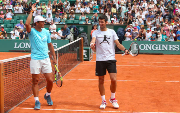 Djokovic Nadal Paris