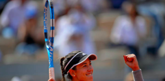 Garbine Muguruza French Open Day 8