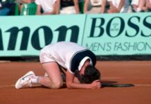 John McEnroe upset