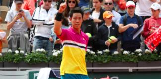 Kei Nishikori Roland Garros