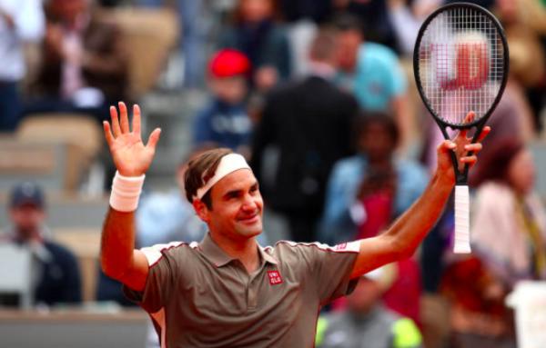 Roland Garros Day 1 Roger Federer