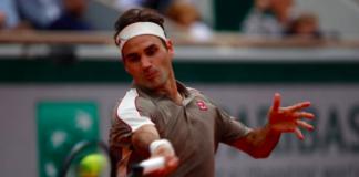 Roger Federer French Open Day 1