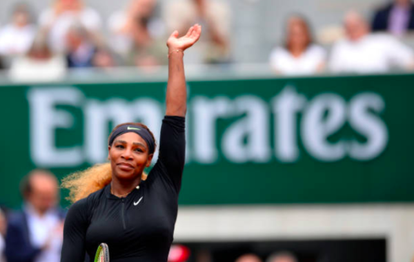 Serena Williams French Open Day 7