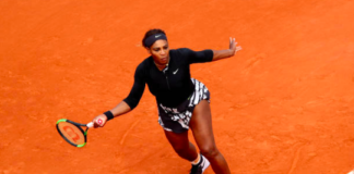Serena Williams French Open Day 2