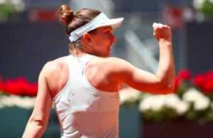 Simona Halep French Open Day 3