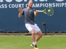 Adrian Mannarino ATP Rosmalen Semifinal