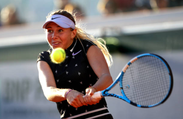 Amanda Anisimova French Open Day 11