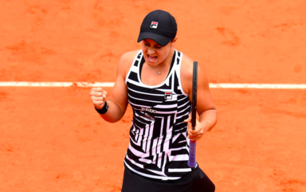 Ashleigh Barty French Open final