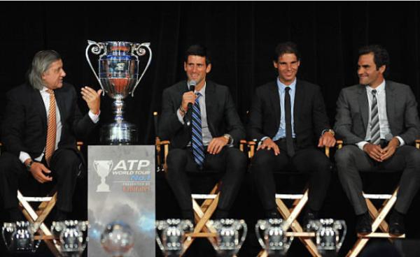Big Three Federer Djokovic Nadal
