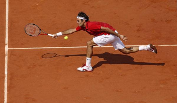 Federer French Open 2011