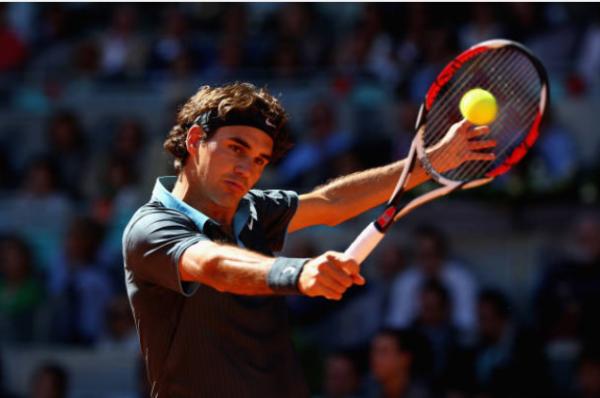 Federer Madrid Open 2009
