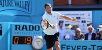 Grigor Dimitrov Queen's Day 2