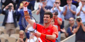 Novak Djokovic French Open semifinal