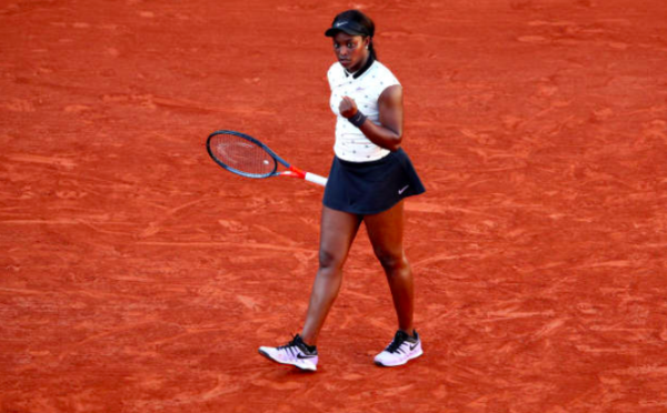 Sloane Stephens French Open Day 10