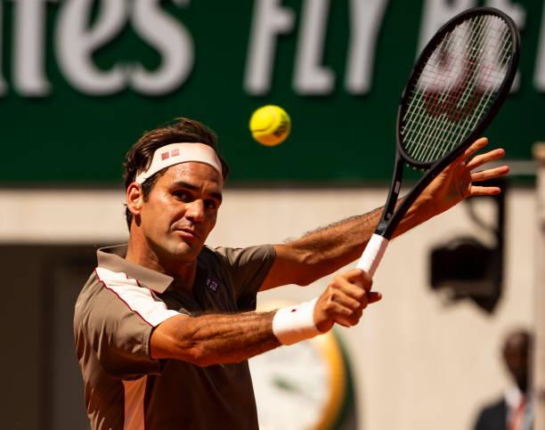 Roger Federer French Open Day 10