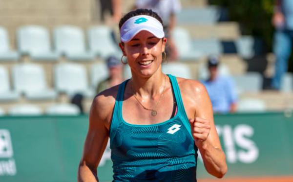 WTA Lausanne Alize Cornet