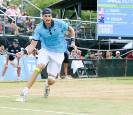 Hall of Fame Open John Isner