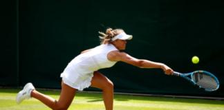 Sofia Kenin Wimbledon